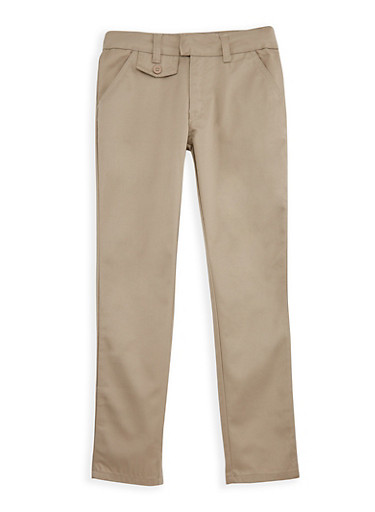 Girls 7-14 Adjustable Waist School Uniform Pants at Rainbow Shops in Daytona Beach, FL | Tuggl