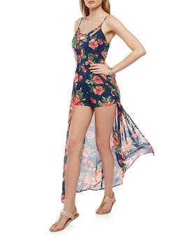 Flora Caged Maxi Romper - 0045051064092