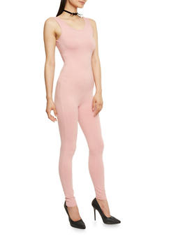 Sleeveless Soft Knit Catsuit - 0045058930133