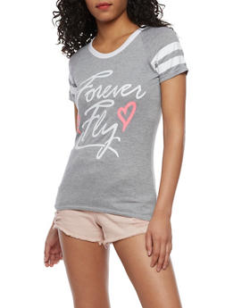 Forever Fly Graphic T Shirt - 0056038346700