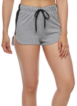 French Terry Shorts with Graphic Forever Fly Waist Band - 0056038346701