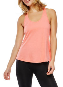 Braided Racerback ActivewearTank Top - 0058054269272