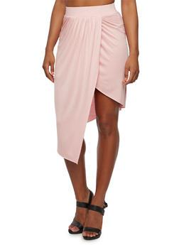 Draped Asymmetrical Skirt - 0062058938016