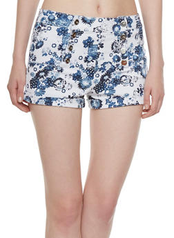 Almost Famous Printed Sailor Shorts - 0070015990999