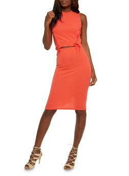 Lace Up Crop Top and Pencil Skirt Set - 0094038348788