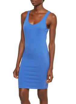 Solid Tank Dress - 0094058751171