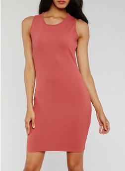 Sleeveless Bodycon Mini Dress - 0094058935000
