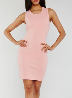 Sleeveless Bodycon Mini Dress - 0094058935000