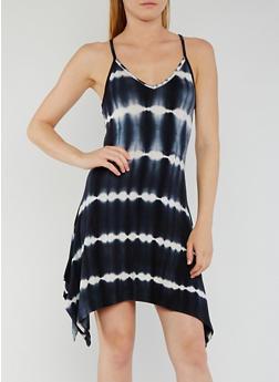 Tie Dye Sharkbite Tank Dress - 0094073371109