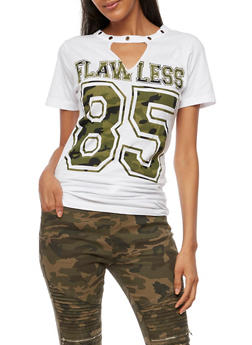 Flawless Graphic T Shirt - 0302033878510