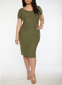 Plus Size Shirt Dresses for Women