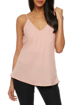 Strappy V Neck Cami - 1002054269692