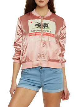 California Republic Bomber Jacket - 1008058757364