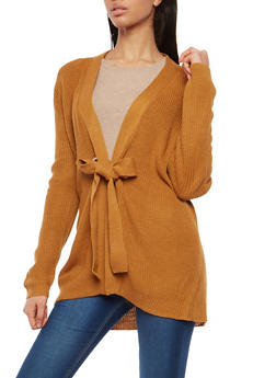 Long Sleeve Grommet Closure Cardigan - 1022069391544
