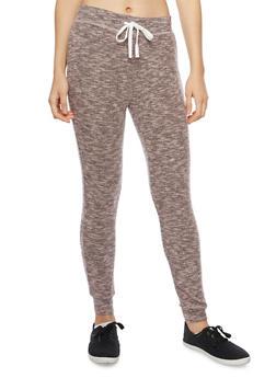 Soft Marled Knit Joggers - 1056001440099