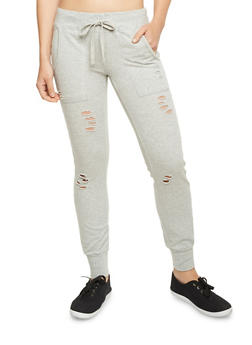 Distressed Joggers - 1056015993542