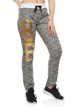 Brooklyn Foil Graphic Sweatpants - 1056038342710