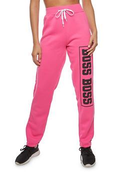 Boss Graphic Sweatpants - 1056038342724