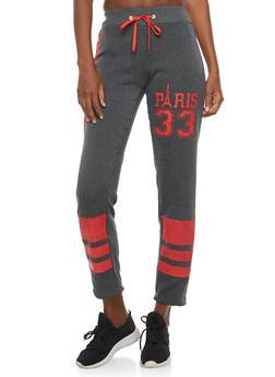 Paris Graphic Sweatpants - 1056038342726