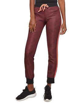 Marled Fleece Activewear Sweatpants - 1056038342907
