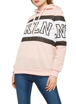Fleece Brooklyn Graphic Sweatshirt - 1056051060050