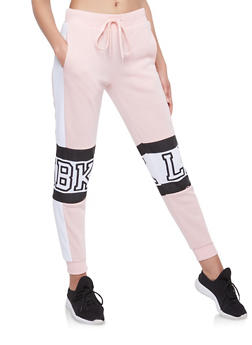 Graphic Fleece Sweatpants - 1056051060051