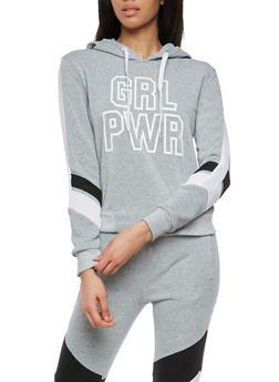 Grl Pwr Graphic Hooded Sweatshirt - 1056051066134