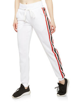 Side Stripe Joggers - 1056051066143