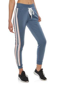 Side Stripe Joggers - 1056051066143