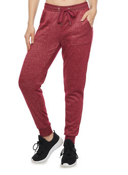 French Terry Drawstring Joggers - 1056051067557