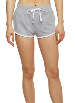 Activewear Shorts with Contrast Trim - 1056054266939