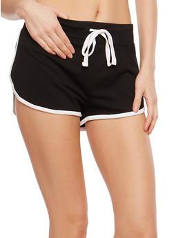 Contrast Trim Active Shorts - 1056054269396