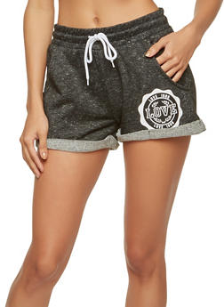 Marled Love Graphic Shorts - 1056072290024