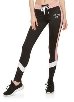 Color Block Joggers - 1056072290116