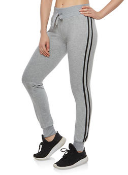 Side Varsity Stripe Sweatpants - 1056072290117