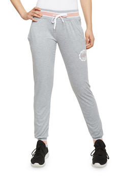 Love Graphic Joggers with Drawstring - 1056072295001