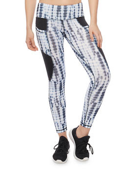 Cropped Activewear Leggings - 1058015990187