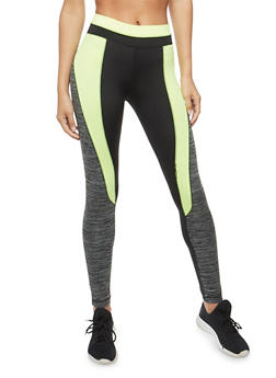 Marled Activewear Leggings - 1058038340102