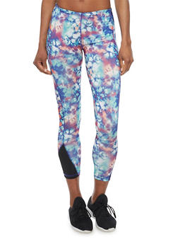 Tye Dye Athletic Leggings - 1058038347401