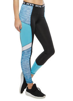 NYC Graphic Leggings - 1058038348031