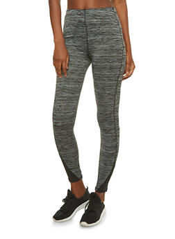 Slay All Day Printed Active Leggings - 1058038348111