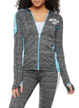 Namaslay Graphic Hooded Active Sweatshirt - 1058038348160