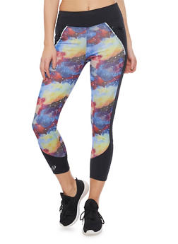 Activewear Leggings in Abstract Print - 1058051061012