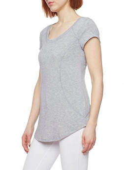 Short Sleeve Activewear T Shirt - 1058054269268