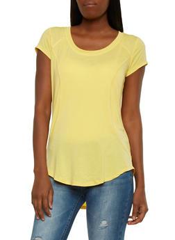 Short Sleeve Activewear T Shirt - 1058054269268