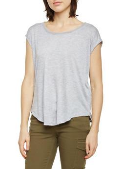 Mesh Racerback T Shirt - 1058054269293
