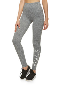 Star Graphic Leggings - 1059061632022