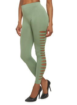 Seamless Laser Cut Leggings - 1059062900055
