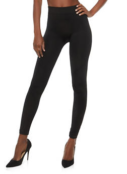 Slashed Mesh Insert Leggings - 1059062903401