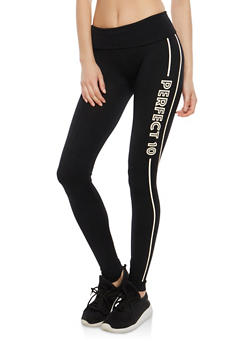 Perfect 10 Graphic Leggings - 1059062907226